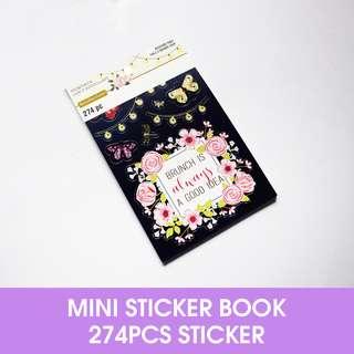 🚚 Backyard Table Mini Sticker Book