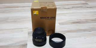 NIKKOR LENS AF-S 50mm f/1.8G