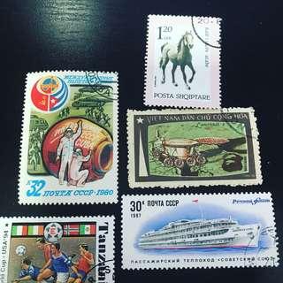 郵票特價 $2/個