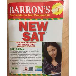 Barron's NEW SAT Book-28th Edition