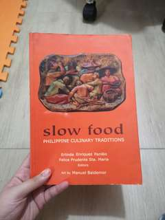 Slow Food, Cooking Traditions