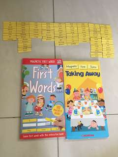 Scholastic magnetic first words