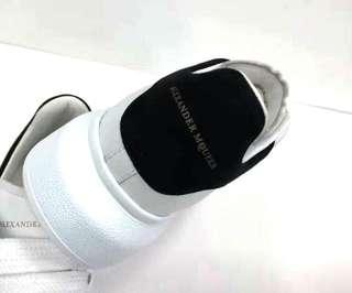 Alexander Mcqueen Oversized Sneaker Heel hight 4.5cm 100% Calfskin 4隻色 香港專門店售HKD3900 Real and New