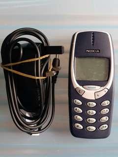 Nokia 舊手機 型號:3310 Made in Finland