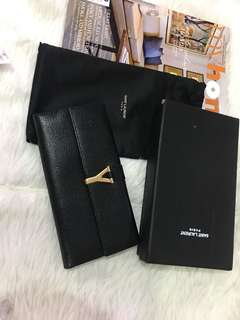 Ysl long wallet authentic grade quality