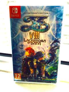 (NEW & SEALED) Switch Ys VIII: Lacrimosa of Dana Adventure Edition [EU]