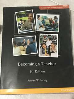 🚚 Becoming a teacher 9th edition