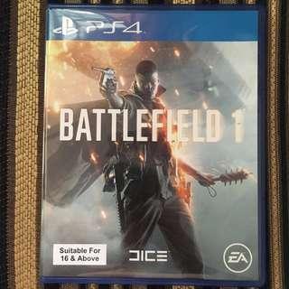 Kaset BD PS4 Battlefield 1