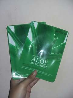 Korean Aloe Vera Sheet Masks