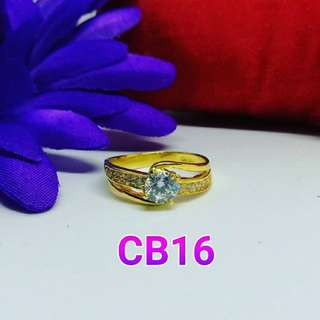 CINCIN BATU PERMATA 916 KOD : CB16