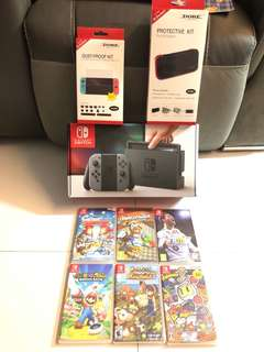 Nintendo Switch With 1 Game