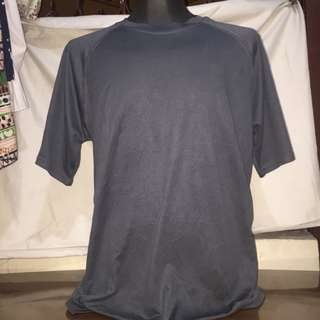 LESLIE JORDAN gray plus size drifit tshirt xl