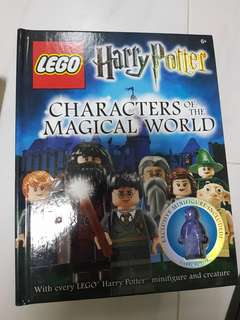 Lego harry potter characters of the magical world book