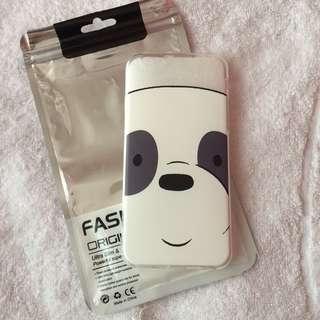🌷BRANDNEW🌷 We Bare Bears Panda Soft Cover Case Iphone 6, Iphone 6s