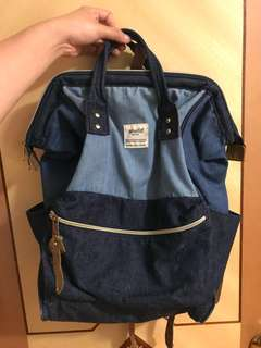 Anello jean backpack 牛仔背包