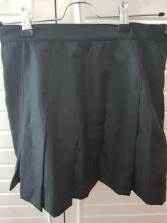 Korean - Inspired Mini Skirt - w/ pleats