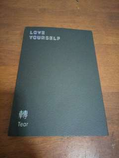 BTS LOVE YOURSELF TEAR ALBUM R VERSION