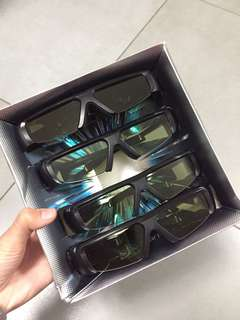 Samsung 3D立體眼鏡x4
