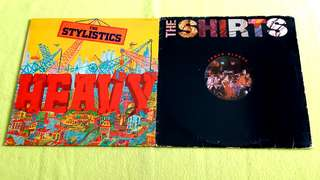 STYLISTICS . heavy ● THE SHIRTS . the shirts inner sleeve ( buy 1 get 1 free )   Vinyl record