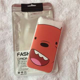 🌷BRANDNEW🌷 We Bare Bears Grizzly Soft Cover Case Iphone 6, Iphone 6s