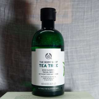 (PRELOVED) The Body Shop Tea Tree Skin Clearing Wash