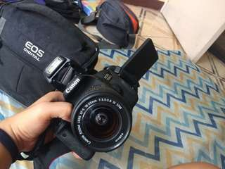 Canon 700d with 2 lenses