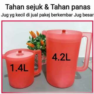 Tupperware jug