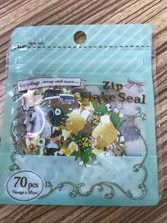 Japan Animal Stickers 70 pieces