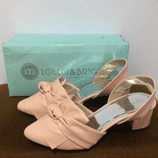 Lollo&Bridiga Nude Pink Heels FREEONG