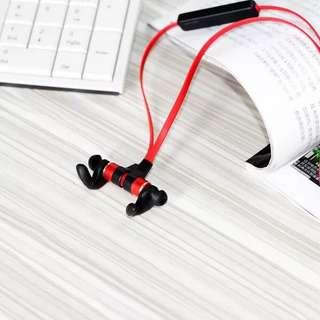 重低音磁吸防汗藍芽耳機4.1+EDR
