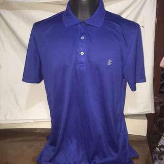 IZOD blue plus size polo shirt fits xl