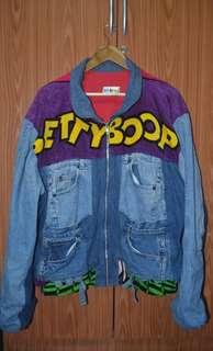 1995 Vintage Betty Boop Denim Jean Jacket