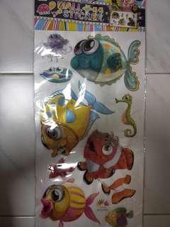 Fish 3D wall Sticker