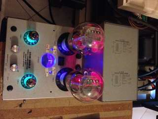 300B Amp with Full music tube & Tube preamp as per McIntosh C11 design