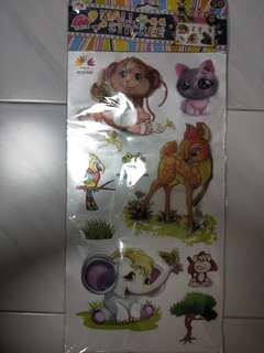 Animal 3D wall Stickers 2