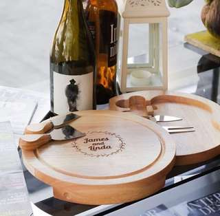 Cheeseboard personalized