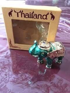 Pajangan Gajah (hijau)