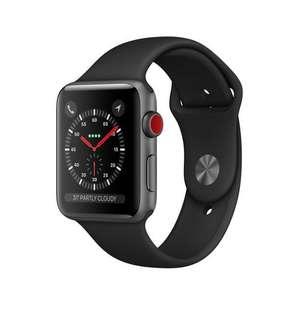 🚚 Apple watch series 3 GPS + cellular 38mm black