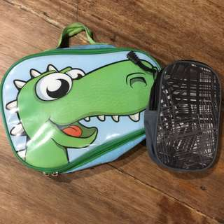 Lunch Kit and Water Bottle Bag