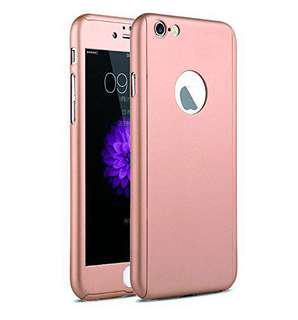 🚚 iPaky 360° Case for iPhone 7 Rose Gold
