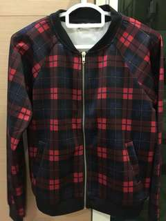 Checkered Women Jacket