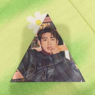 WTS GOT7 7for7 PRESENT EDITION JY TRIANGLE