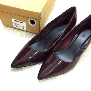Urban & Co Maroon Shoes