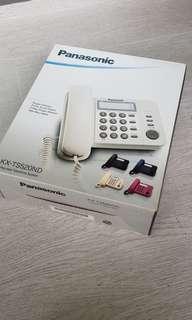 Panasonic desk phone (Brand new in box) Black V