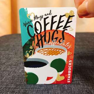 🚚 BN Starbucks Coffee Hugs EZ Link card