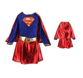 Supergirl costume, size Small