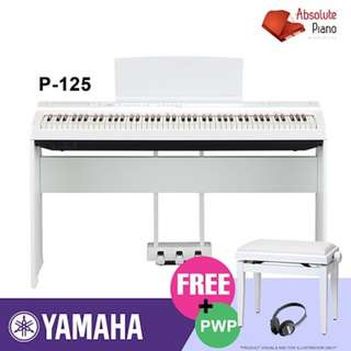 P-125 Yamaha [DIGITAL PIANO SALE!]★Your Trusted Local Top Seller★Electronic Keyboard | Drum I Guitar