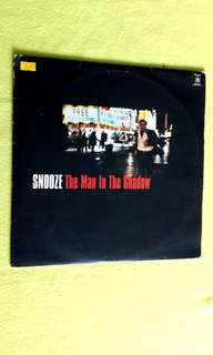 SNOOZE . the man in the shadow.(Double Album )  Vinyl record