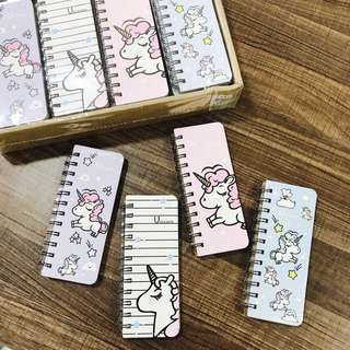 Unicorn Spring Notebook (Blank page)