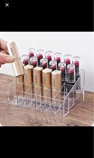 Acrylic lipstick holder